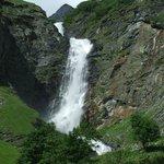 Cascade Champagny le haut la Glière