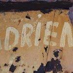 Grafitti on shipwreck