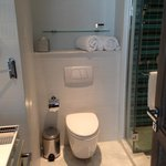 Bathroom: compact but had everything