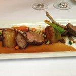 Lamb main - beautiful flavours - light and elegant