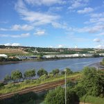 The River Tyne, seen from my room.
