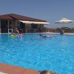 Middle level pool and restuarent/bar at Marni Village