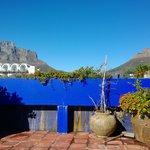 Table Mountain vista do terraço