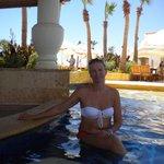 In swimming-pool