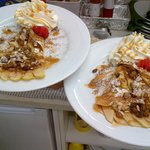 Our very popular  ''Normande'' crepe