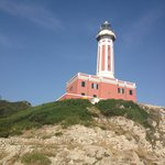 The lighthouse at Lido del Faro
