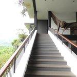 open air staircase