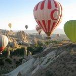Balloon ride at Cappadocia