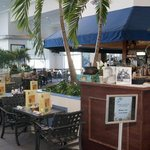 Enjoy a Tropical Drink at the Coral Reef Bar & Grill