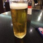 My free beer as a member of the IHG Rewards scheme.
