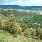 Это долина речки Тарн