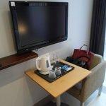 TV and coffee & tea making facilities