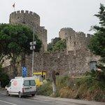 Крепость снаружи