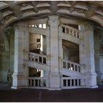 la escalera doble espiral de Leonardo Da VInci