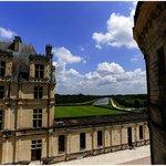 desviaron un brazo del Loire para abastecer el castillo