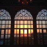 sunset from the Lobi floor 1
