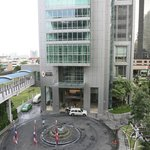 Front of Hotel from BTS Skytrain