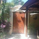 Villa Entrance from inside