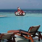 Pool an Weihnachten