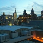 Philly Skyline from Room