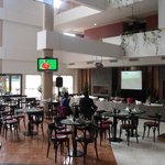 Zona de Bar viendo el Mundial