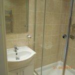 Banheiro super limpo e reformado