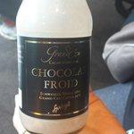 Chocolate gelado!