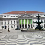 National Theater in Rossio Square