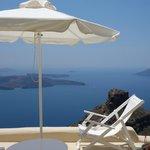 White Suite: Veranda view