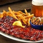 A full rack of award-winning Ribs, two Southern Sides and an ice-cold Brew!