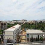 Veranda view from 8th floor King Rm