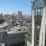The view looking toward Alacatraz