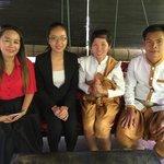owner with Chou Eng,Chamroeun and Chhay Leng