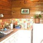 Our wonderful kitchen with mexican tiles and everything you need