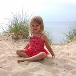 Grand daughter loved the beach