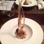 Spectacular Chocolate, banana and coffee dessert