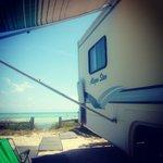 Oceanfront Camping in Long Key, Florida