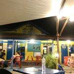 Bayu Dive Lodge front desk, Alu Alu Dive Shop & Eating area