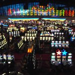 Casino view from upper level