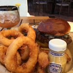 Great Burger & Rings!