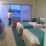 Twin room on 5th floor