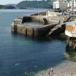 Plymouth wharf still used by anglers
