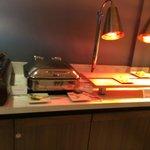 M Club Lounge: breakfast spread