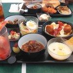 selección del buffet