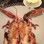 roasted lobster with beurre blanc