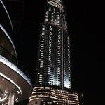 The Address, Downtown Dubai at night