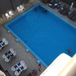 Pool view from room 321