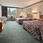 Standard Two Double Bed Room