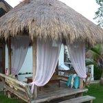 Les huttes de repos