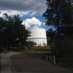 The dome of Lowell's Alvan Clark Refractor